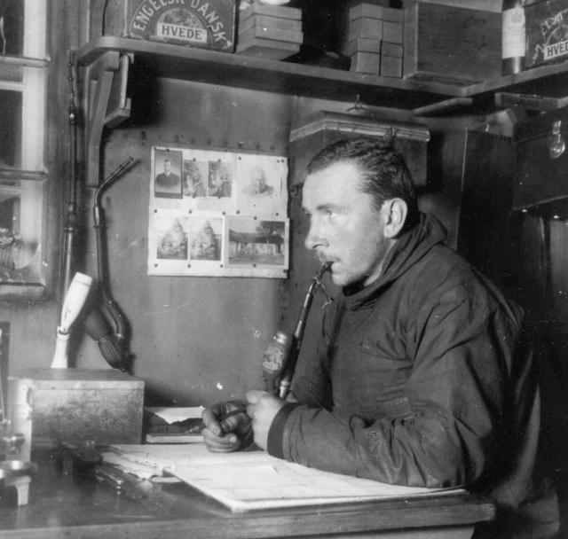 Alfred Wegener, in Greenland, 1930