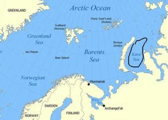 Kara Sea, Home to Oil North
