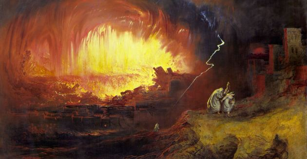 God's Wrath, by John Martin, 1852