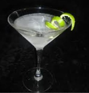 An iced martini - not unlike the surface of Europa