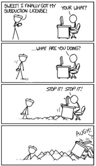 xkcd's take on subduction
