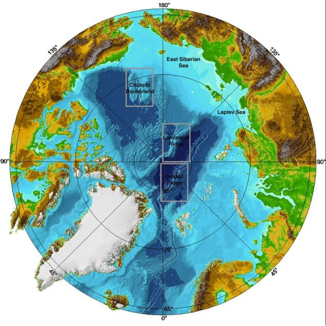 The Arctic. Image from NOAA Commons.