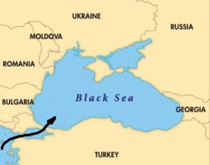 Black Sea, breaching the Bosophorous