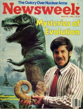 Stephen Jay Gould, cover of Newsweek, 1982