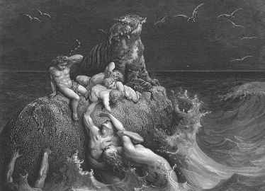 Gustave Doré - The Deluge