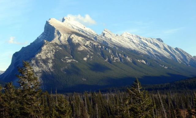 A classic thrust sheet - Alberta Canada's Mount Rundle