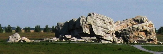 Okotoks - aka Big Rock