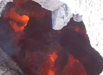 Chinese coal bed fire