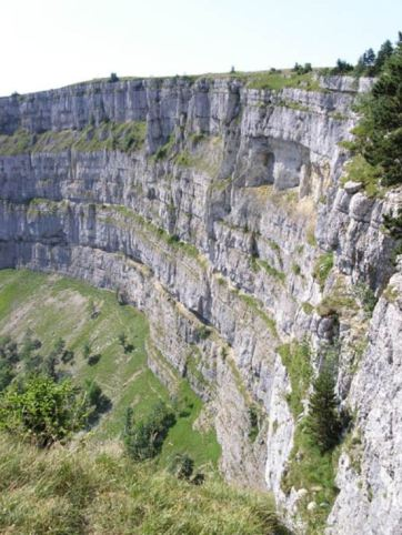 Jura Creux du Van, SwitzerlandJurassic rocks by birthdate and birth place