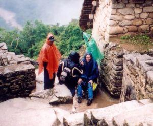 Ron at Machu Pichu