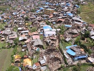 Barpak, Nepal - the day after the quake that killed thousands.