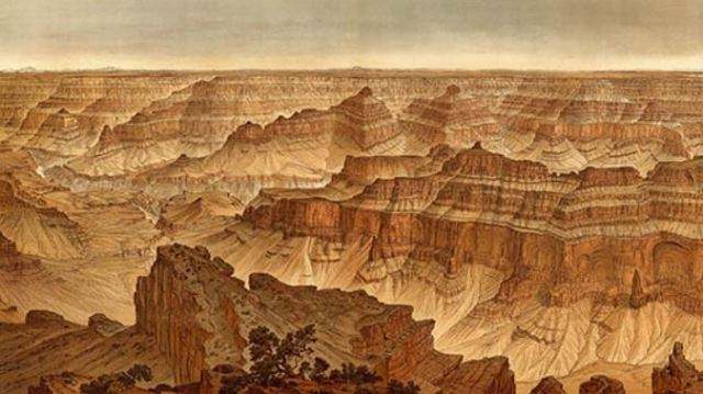 Dutton and Holmes, Panorama from Point Sublime, 1882