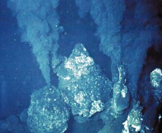 Black Smokers, off American west coast in the PacificUS Gov't photo: NSF