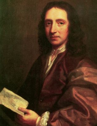Portrait of Edmond Halley by Thomas Murray, 1687.