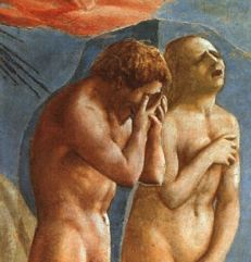 Expulsion by Masaccio, 1425