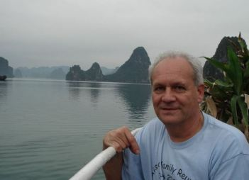 This author, at Ha Long Bay