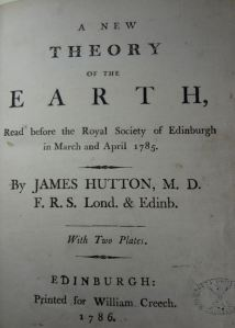 Theory of the Earth - the book of modern geology