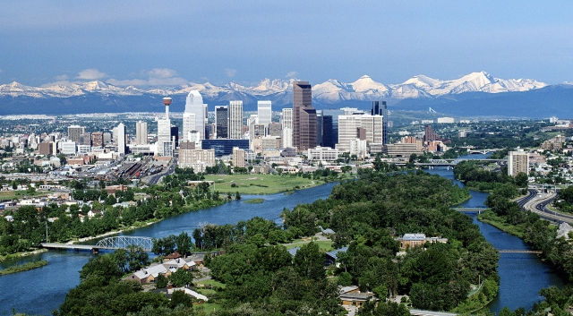 Calgary: The world's cleanest oil city.