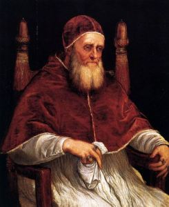 "Pope Paul III - grantor of the Jesuits' charter, 1540. Ignatius, founder of the Society of Jesus told the pontiff it would be ""The pope's own army,"" an enforcer of papal decrees."