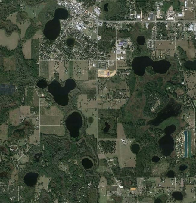 Florida S Newest Sinkholes The Mountain Mystery