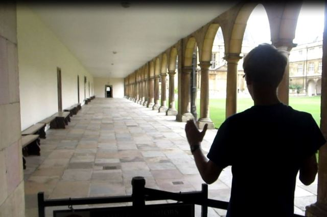 Newton's speed of sound experiment at Trinity College, Cambridge