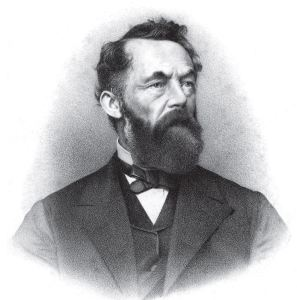 James Hall, American geologist and paleontologist. (1811-1898)