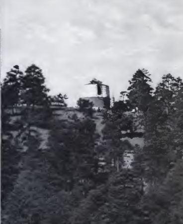 Mars Hill, Lowell's Flagstaff observatory.