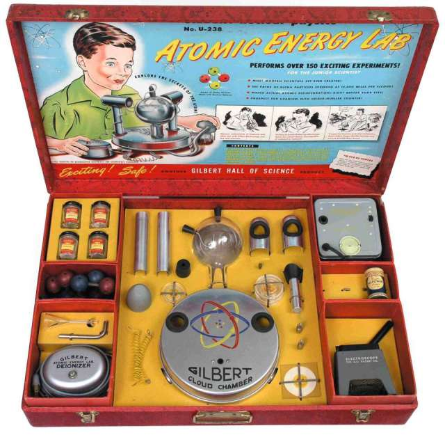 atomic energy lab kit from 1951