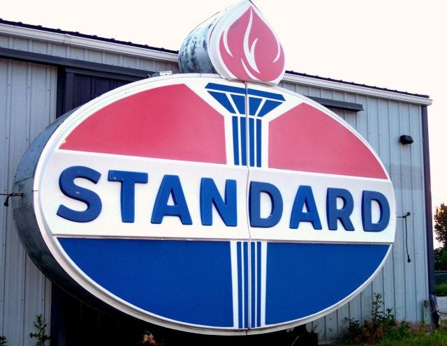 Standard Oil helped statandardize oil drums, c 1872 Source: Wikipedia