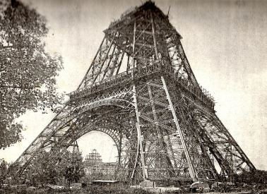 Eiffel Tower in 1888