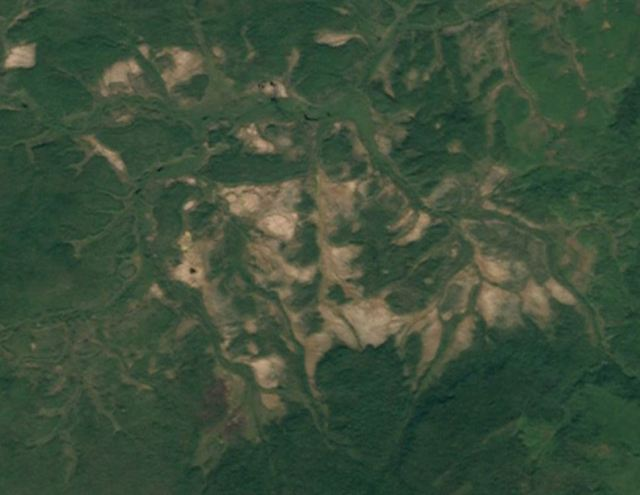 Landsat image of Tunguska site today: still isolated and unpopulated.